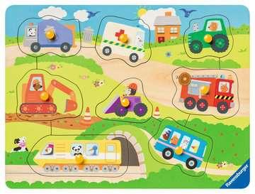 Favourite vehicles Puslespil;Puslespil for børn - Billede 2 - Ravensburger