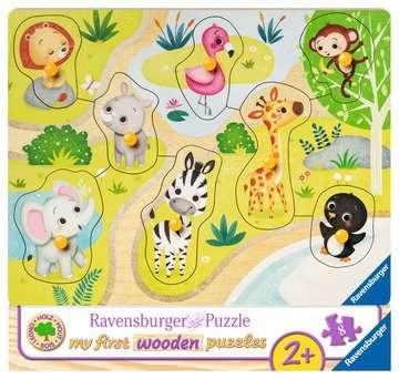 In de dierentuin Puzzels;Puzzels voor kinderen - image 1 - Ravensburger