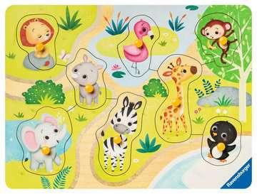 Zoo animals Puslespil;Puslespil for børn - Billede 2 - Ravensburger