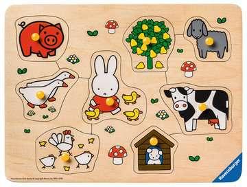 nijntje op de boerderij Puzzels;Puzzels voor kinderen - image 2 - Ravensburger