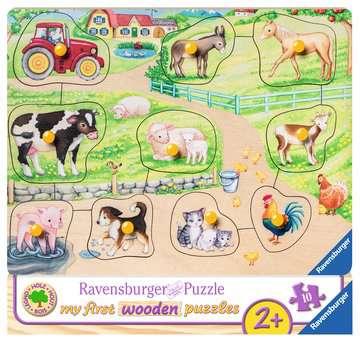 De madrugada en la granja Puzzles;Puzzle Infantiles - imagen 1 - Ravensburger