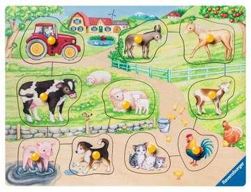 De madrugada en la granja Puzzles;Puzzle Infantiles - imagen 2 - Ravensburger