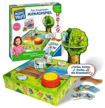 Mein Kinderlieder-Mitmachspiel Baby und Kleinkind;Spiele - Bild 1 - Ravensburger