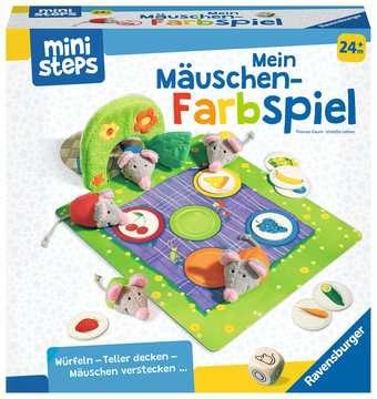 04170 Spiele Mein Mäuschen-Farbspiel von Ravensburger 1
