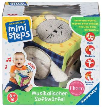 Musikalischer Softwürfel Baby und Kleinkind;Spielzeug - Bild 3 - Ravensburger