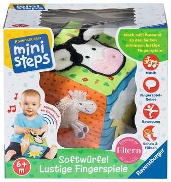 Softwürfel Lustige Fingerspiele Baby und Kleinkind;Spielzeug - Bild 3 - Ravensburger