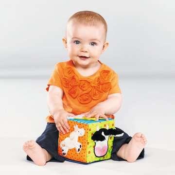 Softwürfel Lustige Fingerspiele Baby und Kleinkind;Spielzeug - Bild 4 - Ravensburger
