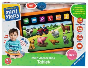 Mein allererstes Tablet Baby und Kleinkind;Spielzeug - Bild 2 - Ravensburger