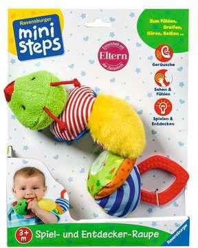 Spiel- und Entdecker-Raupe Baby und Kleinkind;Spielzeug - Bild 3 - Ravensburger
