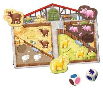 Unser Bauernhof-Spiel Baby und Kleinkind;Spiele - Bild 1 - Ravensburger