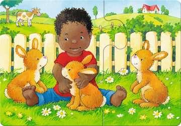 Mein allererstes Puzzle: Streichelzoo Baby und Kleinkind;Puzzles - Bild 1 - Ravensburger