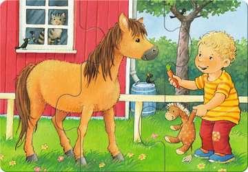 Mein allererstes Puzzle: Streichelzoo Baby und Kleinkind;Puzzles - Bild 2 - Ravensburger