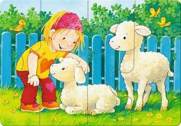 Mein allererstes Puzzle: Streichelzoo Baby und Kleinkind;Puzzles - Bild 3 - Ravensburger