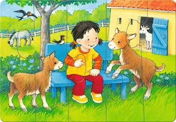 Mein allererstes Puzzle: Streichelzoo Baby und Kleinkind;Puzzles - Bild 4 - Ravensburger