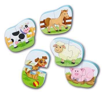 Badepuzzle Bauernhof Baby und Kleinkind;Spielzeug - Bild 2 - Ravensburger