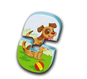 Badepuzzle Bauernhof Baby und Kleinkind;Spielzeug - Bild 3 - Ravensburger