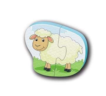 04537 Spielzeug Badepuzzle Bauernhof von Ravensburger 6