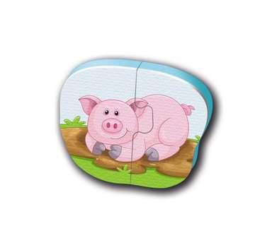 Badepuzzle Bauernhof Baby und Kleinkind;Spielzeug - Bild 7 - Ravensburger