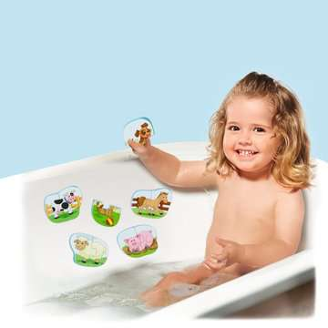 Badepuzzle Bauernhof Baby und Kleinkind;Spielzeug - Bild 9 - Ravensburger