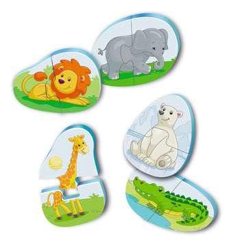 Badepuzzle Zoo Baby und Kleinkind;Spielzeug - Bild 1 - Ravensburger