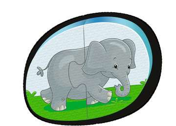Badepuzzle Zoo Baby und Kleinkind;Spielzeug - Bild 3 - Ravensburger