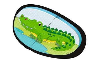 Badepuzzle Zoo Baby und Kleinkind;Spielzeug - Bild 5 - Ravensburger