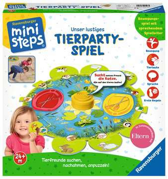 Unser lustiges Tierparty-Spiel Baby und Kleinkind;Spielzeug - Bild 3 - Ravensburger