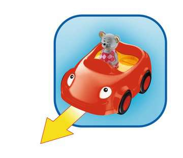 Mein Multi-Fahrspaß-Auto Baby und Kleinkind;Spielzeug - Bild 4 - Ravensburger