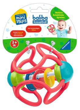 04554 Spielzeug baliba Rasselball (rot) von Ravensburger 2