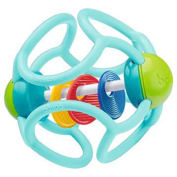 04555 Spielzeug baliba Rasselball (türkis) von Ravensburger 1