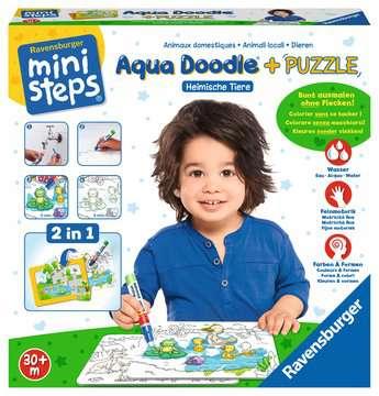 04557 Aqua Doodle® Aqua Doodle® Puzzle: Heimische Tiere von Ravensburger 2