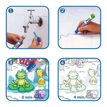 04557 Aqua Doodle® Aqua Doodle® Puzzle: Heimische Tiere von Ravensburger 3