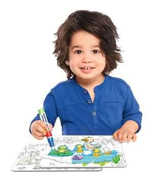 04557 Aqua Doodle® Aqua Doodle® Puzzle: Heimische Tiere von Ravensburger 4