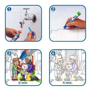 04558 Aqua Doodle® Aqua Doodle® Puzzle: Einsatzfahrzeuge von Ravensburger 3