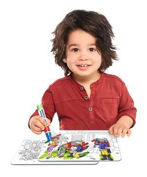 Aqua Doodle® Puzzle: Einsatzfahrzeuge Baby und Kleinkind;Aqua Doodle® - Bild 4 - Ravensburger