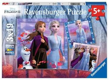 Disney Frozen 2: De reis begint. Puzzels;Puzzels voor kinderen - image 1 - Ravensburger