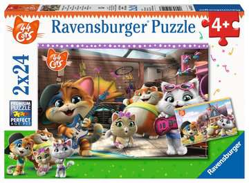 Music Time with the Buffycats Puslespil;Puslespil for børn - Billede 1 - Ravensburger