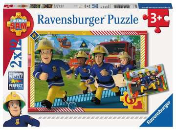 Sam en zijn team Puzzels;Puzzels voor kinderen - image 1 - Ravensburger