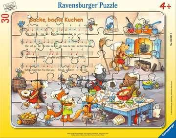 05025 Kinderpuzzle Backe, backe Kuchen von Ravensburger 1