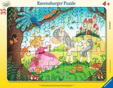 05027 Kinderpuzzle Im Land der kleinen Prinzessin von Ravensburger 1