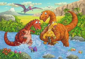 Dinosaurs at play Jigsaw Puzzles;Children s Puzzles - image 2 - Ravensburger