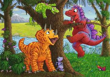 Dinosaurs at play Jigsaw Puzzles;Children s Puzzles - image 3 - Ravensburger