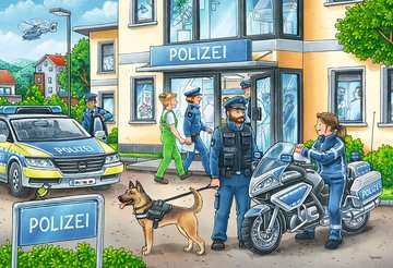 Police at work! Jigsaw Puzzles;Children s Puzzles - image 2 - Ravensburger