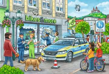Police at work! Jigsaw Puzzles;Children s Puzzles - image 3 - Ravensburger