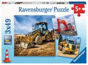 Digger at work! Jigsaw Puzzles;Children s Puzzles - image 1 - Ravensburger