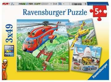Above the Clouds          3x49p Puslespil;Puslespil for børn - Billede 1 - Ravensburger