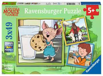 Mouse and Friends Jigsaw Puzzles;Children s Puzzles - image 1 - Ravensburger