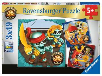 Treasure X Jigsaw Puzzles;Children s Puzzles - image 1 - Ravensburger