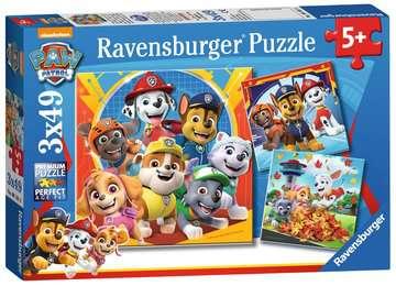Paw Patrol 3x49pc Puzzles;Children s Puzzles - image 1 - Ravensburger