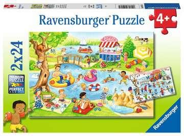 05057 Kinderpuzzle Freizeit am See von Ravensburger 1